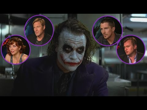 The Dark Knight Turns 10: Watch The Cast Reflect On Heath Ledger's Oscar-Winning Performance