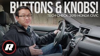 Tech Check: 2019 Honda Civic's Display Audio system, now with buttons and knobs by Roadshow