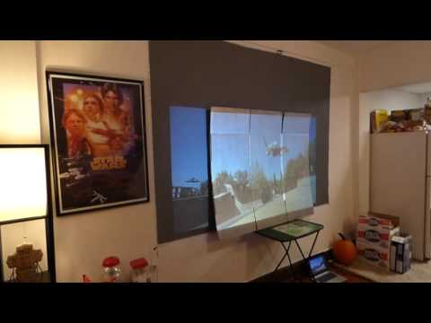 CRYSTAL EDGE TECHNOLOGY THE FIRST ECO-FRIENDLY CARDBOARD PROJECTOR SCREEN!