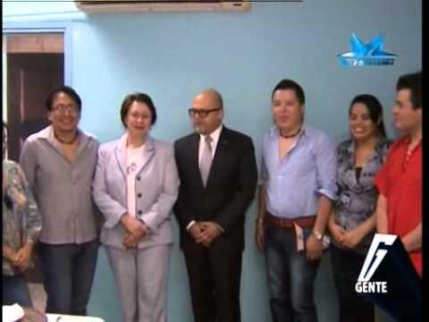 TVC Gente -     Almuerzo al diplomático Iván Cáceres