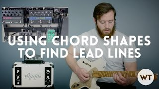 Video Lead Guitar Lesson - use chord shapes to find lead lines MP3, 3GP, MP4, WEBM, AVI, FLV Juni 2018
