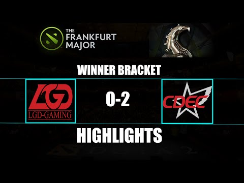 The Frankfurt Major: CDEC 2-0 LGD.Gaming Highlights Winner Bracket
