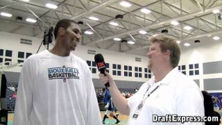 DraftExpress Exclusive - Dexter Pittman Interview at the 2011 D-League Showcase