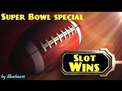 SUPER BOWL SPECIAL : Slot Machine BIG WINS and BONUSES!
