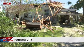 Cleanup efforts underway after Hurricane Michael devastates Florida Panhandle