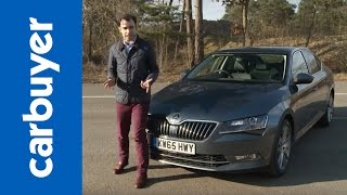 Skoda Superb hatchback review - Carbuyer by Carbuyer