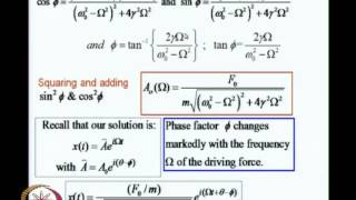 Mod-02 Lec-09 Oscillators, Resonances, Waves(iii)