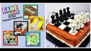 How to Make a Playable Chess Cake ~ Game Night Collaboration with the Dessert Network by Gretchen's Bakery