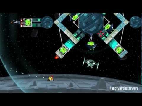 rovio - May the birds be with you! http://rov.io/abstarwars Angry Birds Star Wars will be out on November 8, but until then, watch this gameplay trailer and scream 
