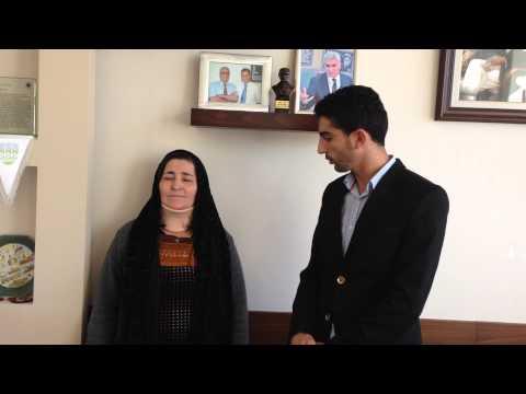 Hawı Jangır KARO - Boyun Fıtığı Hastası - Prof. Dr. Orhan Şen