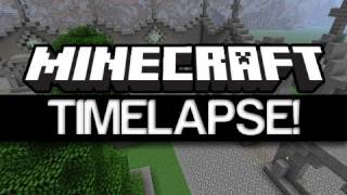 Minecraft Timelapse: Episode 3 - Part 1 complete!