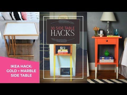 30 ingenious Side table hacks