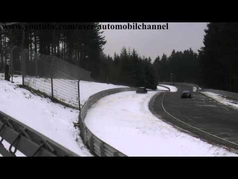 Mini Cooper S Crash @ Nordschleife Nurburgring  Brünnchen Easter Ostern 2013
