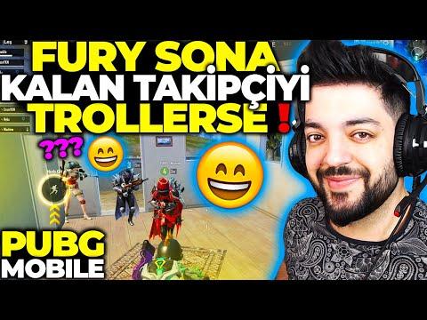 FURY SONA KALAN TAKİPÇİYİ TROLLERSE !! PUBG Mobile