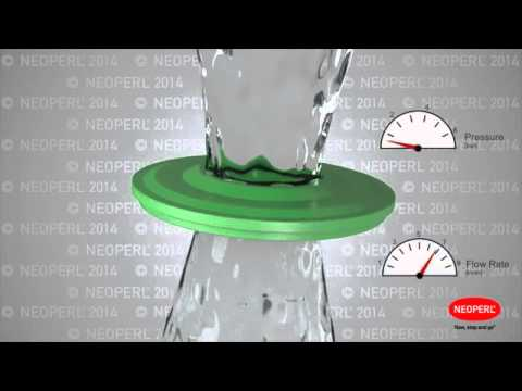 How the Water-Saving Neoperl PCA Technology for Faucets Works