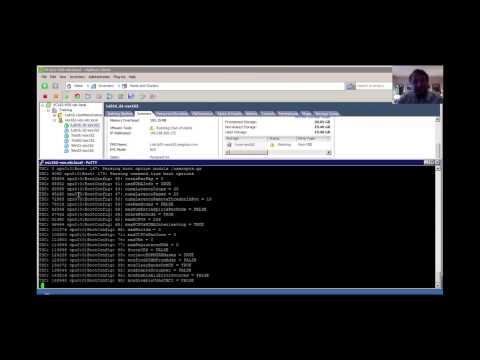 ¿Cómo ver los log de arranque de VMware ESXi con zcat?