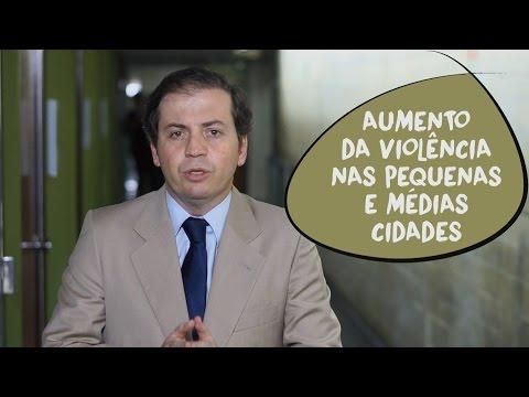 Rodrigo de Castro fala sobre a violência nos municípios de Minas