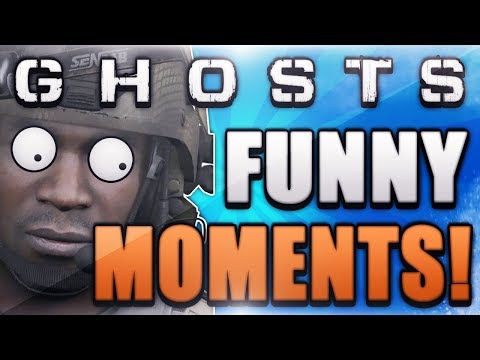 COD Ghosts Funny Moments – Ladder Glitch, Remix, Fails, Funny Player Animations!