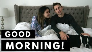 MARRIED COUPLE'S MORNING ROUTINE | Cody & Lexy