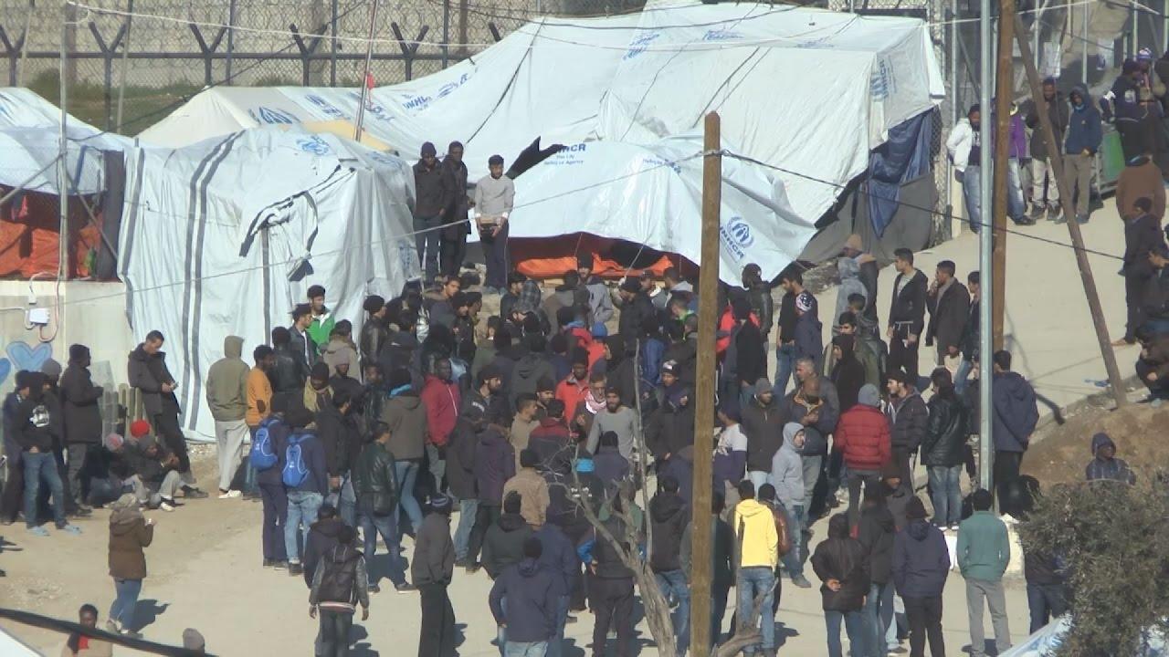 Μικρή αναταραχή στη Μόρια εξαιτίας θανάτου μετανάστη