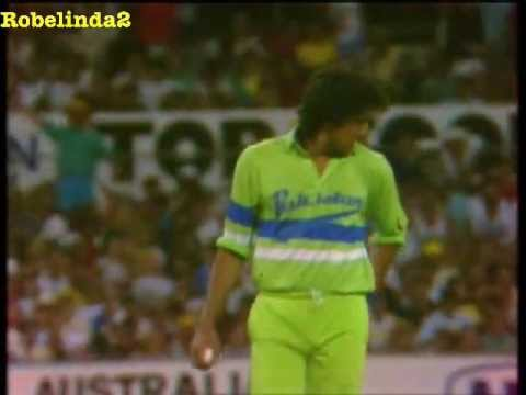 akram - All his wickets from the two tours to Australia in 1988/89 & 1989/90 - two tri series and the 3 test series vs Australia. REJOICE IN THE RAREST FOOTAGE OF WA...