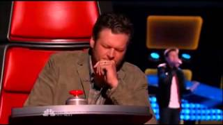 "Justin Johnes ""Let Her Go"" The Voice USA Season 7 Episode 5"