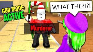 ROBLOX MURDER MYSTERY 2 GOD MODE
