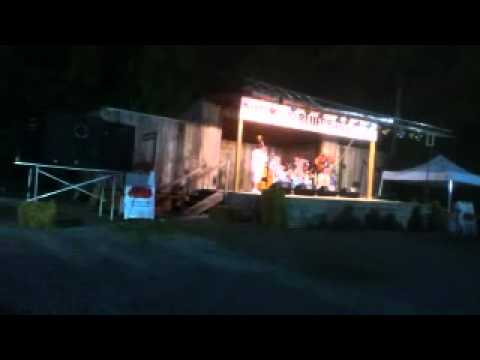 Rob Pearcy and The Slim Chance Band @ 2012 Williamson County Fair - The Cherokee Shuffle