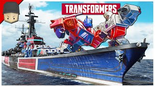 World of Warships - TRANSFORMERS!