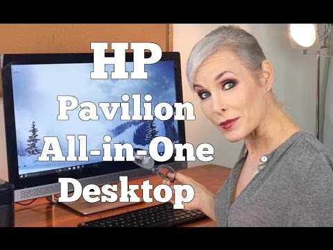 HP Pavilion Desktop All-In-One with Cortana