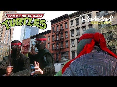 Teenage Mutant Ninja Turtles filming locations in New York City! The Original!