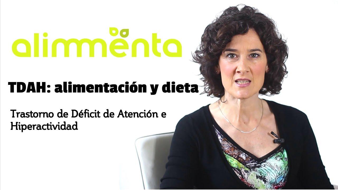 vídeo sobre la dieta para el TDAH