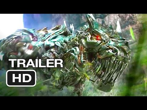 Transformers: Age of Extinction Official Trailer #1 (2014) - Michael Bay Movie HD (видео)