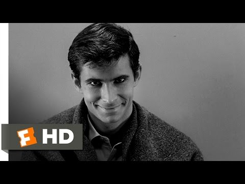 psycho - Psycho Movie Clip - watch all clips http://j.mp/AakYN0 click to subscribe http://j.mp/sNDUs5 In Norman's (Anthony Perkins) twisted mind, he is Mrs. Bates; he...