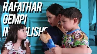 Video Jadi Guru Bahasa Inggrisnya Rafathar Gempi MP3, 3GP, MP4, WEBM, AVI, FLV November 2018