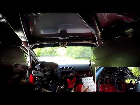 Rally Lubeník 2018 - Gabriel Tamás | Richard Vojakovič - RS7 Hlinka 2 | Crash
