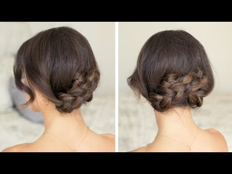 Quick Summer Updo