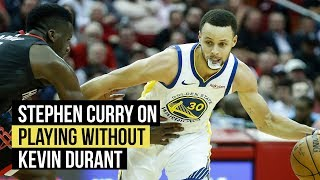 Stephen Curry on how Warriors adjusted to playing without Kevin Durant