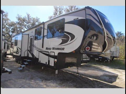 New 2017 Heartland Road Warrior 429 5th Wheel Toy Hauler