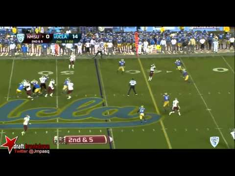 Cassius Marsh vs New Mexico State 2013 video.