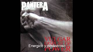 Pantera - Mouth for war (subtitulado al español)