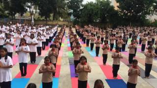 International Yoga Day 2016 @ SSVVK