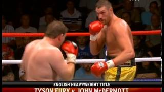 Tyson Fury vs John McDermott - The Rematch 25.6.2010