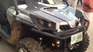 8. 2013 Can Am CanAm Commander Renegade Rotax 800 800R 2012