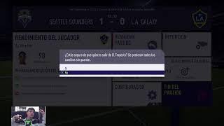 JUGANDO FIFA 18 MODO HISTORIA