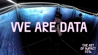 Art of Impact maakt mooie film over de WE ARE DATA Mirror Room