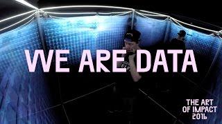 Art of Impact maakt mooie film over de WE ARE DATA Mirror Room