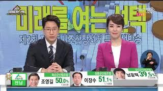 [조합장선거 특집방송 7부] 제2회 전국동시조합장선거 투·개표 특집 생방송 7부