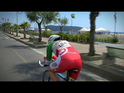 Giro d'Italia Amatori, D'Acuti e Rigon i più veloci a Tortora Marina