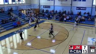 Liam Kennedy with Steal and Score - CBA vs. Jackson Memorial